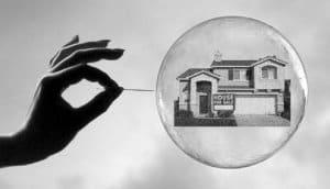 estallido de la burbuja