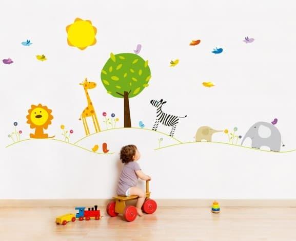 De qu est n hechos los vinilos infantiles for Vinilos infantiles para ninas