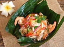 ensalada de fideos tailandesa