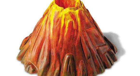 volcanes caseros y de manualidades