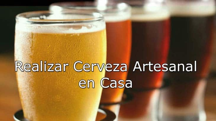 realizar cerveza artesanal en casa