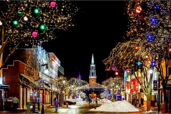 Iglesia en Navidad