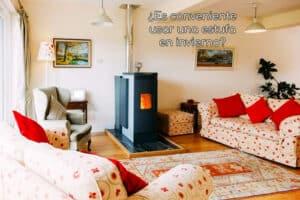 Es conveniente usar una estufa en invierno